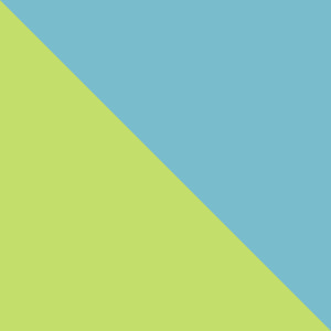 CANYON BLUE,BRIGHT CHARTREUSE